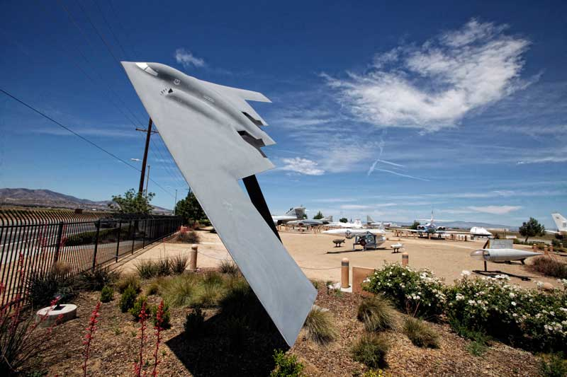 The Joe Davies Heritage Airpark in Palmdale CA. (Hans Gutknecht/Staff Photographer)